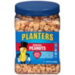 Planters Cocktail Peanuts, Salted, 35 Ounce Canister as low as $4.05!