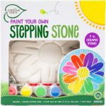Paint Your Own Flower Stepping Stone Kit Only $7.84!