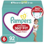 Pampers Cruisers 360 Fit Diapers as low as $0.43 each!