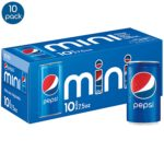 Diet Pepsi and Pepsi Soda Mini Cans, 10 Pack as low as $2.79!