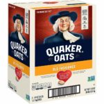 Quaker Old Fashioned Rolled Oats as low as $10.82!