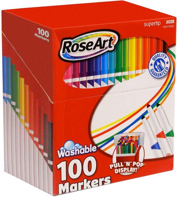 Rose Art SuperTip Washable Markers