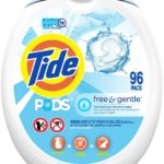 Tide PODS Free and Gentle Laundry Detergent, 96 Count as low as $13.93!