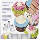 Wilton Cupcake Decorating Icing Tips, 12-Piece Set Only $5.54!