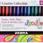 Zebra Pen Doodlerz Gel Stick Pen Mega Set, 60 count Only $13!