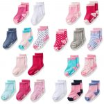 Baby Girl Socks 20-Pack Only $12.99! Great Baby Shower Gift!