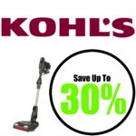 Save up to 30% at Kohl's! Shark ION F80 Cord-Free MultiFLEX Vacuum as low as $162.99! (reg. $500)