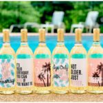 Birthday Tropical Wine Bottle Labels | Set of 6 Only $10.95 Shipped!