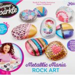 Cra Z Art Shimmer & Sparkle Metallic Mania Rock Art - $11.87! Best Price!