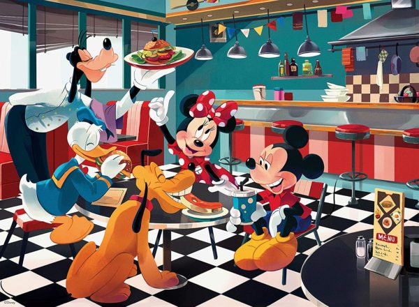 Disney Diner Jigsaw Puzzle