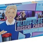 Ellen's Games Blindfolded Musical Chairs Game Only $5.99!
