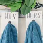 Farmhouse His & Hers Towel Hangers Only $14.99!