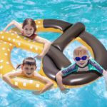 Giant Pretzel Inflatable Floating Seat Only $9.99!