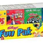 Kellogg's Breakfast Cereal Single-Serve Boxes Variety Pack 8-Count Only $2.87!