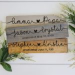 Personalized Couple Sign Only $16.98 Shipped!