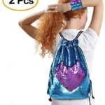 Sequin Mermaid Drawstring Bag Only $7.39!