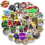Baby Yoda Stickers, 100 count Only $4.49!