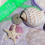 Personalized Beach Bags on Sale - Perfect for Collecting Shells at the Beach!