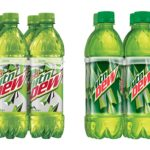 Mountain Dew Bottles, 6 Count Only $2.50!