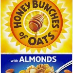 Honey Bunches of Oats Cereal with Almonds as low as $2.52!
