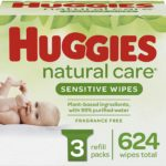 Huggies Natural Care Baby Wipes 624 Count as low as $10.18!
