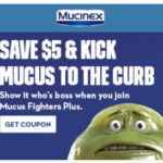 New Coupon! Save $5 on Mucinex!