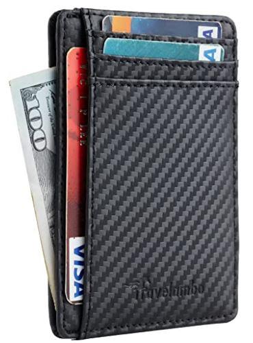 Men's RFID Blocking Slim Wallet Only $7.99!