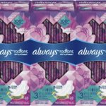 Always Radiant Feminine Pads with Wings, 66 Count as low as $13.35!