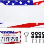American Flag License Plate Holder Only $5.49!
