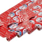 American Greetings Reversible Christmas Wrapping Paper, 4 pack ONLY $5.73!