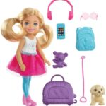 Barbie Chelsea Travel Doll Only $7.49 after Coupon!