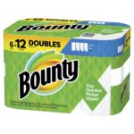 Bounty Select-A-Size Paper Towels, 6 Double Rolls -  $9.98!