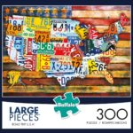 Buffalo Games 300 Large Piece Jigsaw Puzzle Only $8.97!