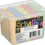 Chalk Sidewalk Chalk 20-Count Only $9 + FREE Shipping!