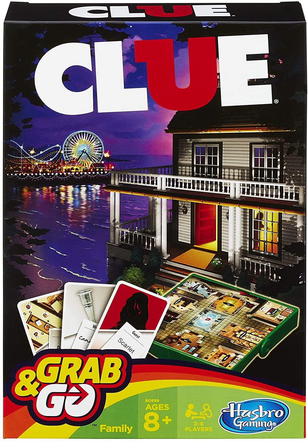Clue Grab and Go Game Only $4.90! (reg. $8.99)