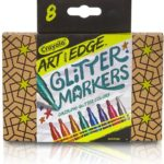 Crayola Art with Edge Glitter Markers 8-Count Pack Only $5.95!