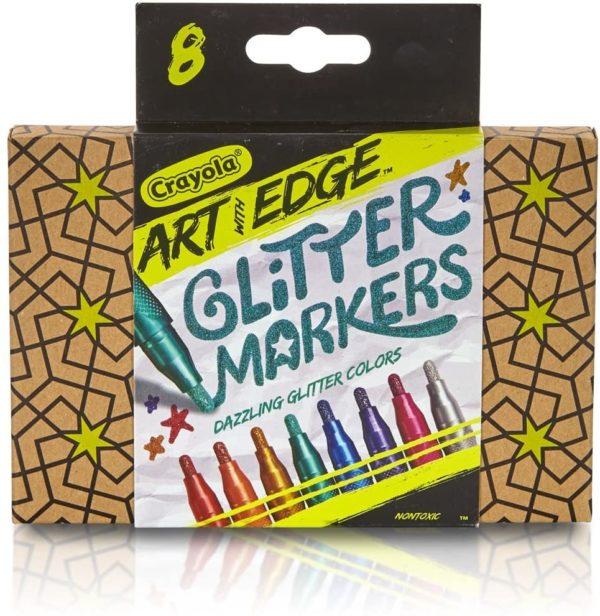 Crayola Art with Edge Glitter Markers