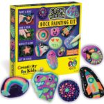 Creativity for Kids Glow In The Dark Rock Painting Kit Only $13.99!