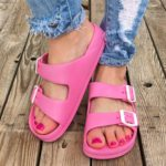 Lightweight Double Buckle Sandals Only $12.99!