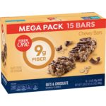 Fiber One Chewy Bars Oats and Chocolate, 15 Bars as low as $3.83!