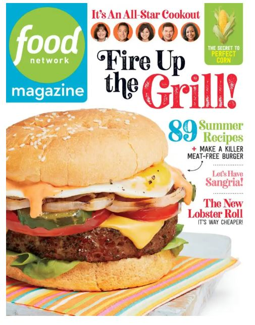 Food Network Magazine Subscription Only $5.99!