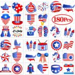 Fourth of July Tattoos, 144 Pieces Only $6.99!