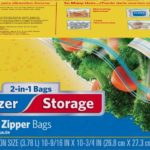 Glad Food Storage and Freezer 2 in 1 Zipper Bags Only $3.14!