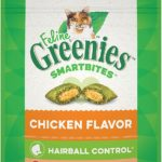 Greenies Feline SMARTBITES Hairball Control as low as $1.00!