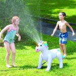 Inflatable Unicorn Sprinkler Only $20.94! Lowest Price!