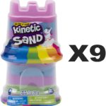 Kinetic Sand - Rainbow Unicorn & Castle Container, 9 pack Only $2.49!
