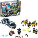LEGO Marvel Avengers Speeder Bike Attack Building Kit Only $15.99!