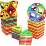 Magnetic Building Blocks, 30-piece Set Only $15!