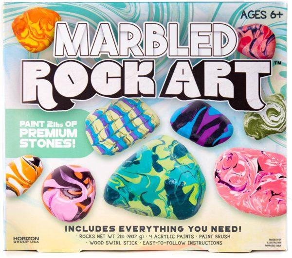 Marbled Rock Art Kit