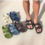 Men's Double Buckle Foam Sandals Only $16.99 Shipped!